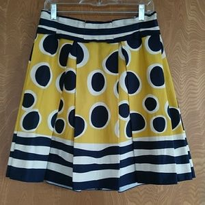Anna Sui for Anthropologie  Trampoline Skirt Sz 10